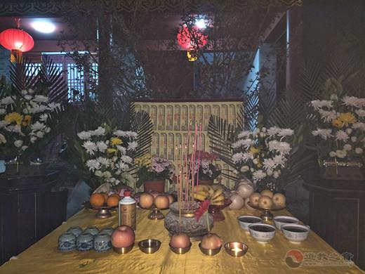 山东青州三官庙为四川凉山救火英烈举行超度法会
