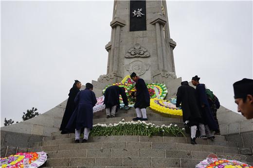 北武当玄帝观前往吉林市烈士陵园和蛟河道士鹤台祭祀