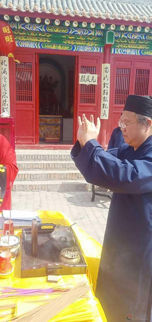 太原市道教界清明节举办悼念救火英烈活动