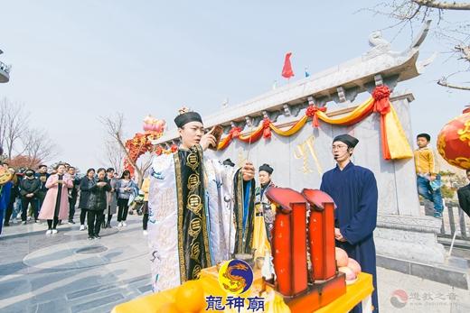 日照龙神庙清明节超度四川凉山救火烈士法会