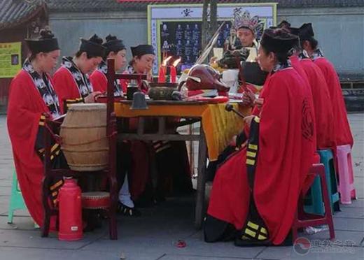四川宜宾、泸州道教界为凉山森林火灾牺牲英烈举行超度法会
