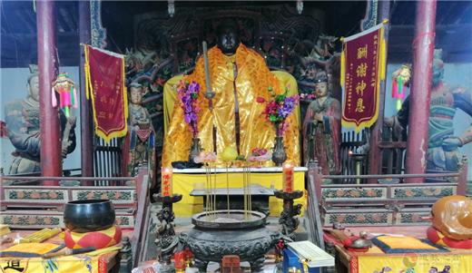 甘肃崆峒山皇城真武殿举办三月初三古庙会