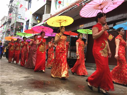 福建霞浦松山天后行宫和台湾新港奉天宫联合举办妈祖巡安活动