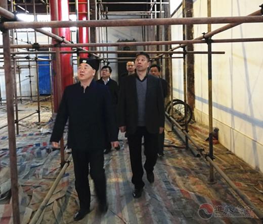 江苏省民宗委、苏州市民宗局领导到玄妙观进行安全检查