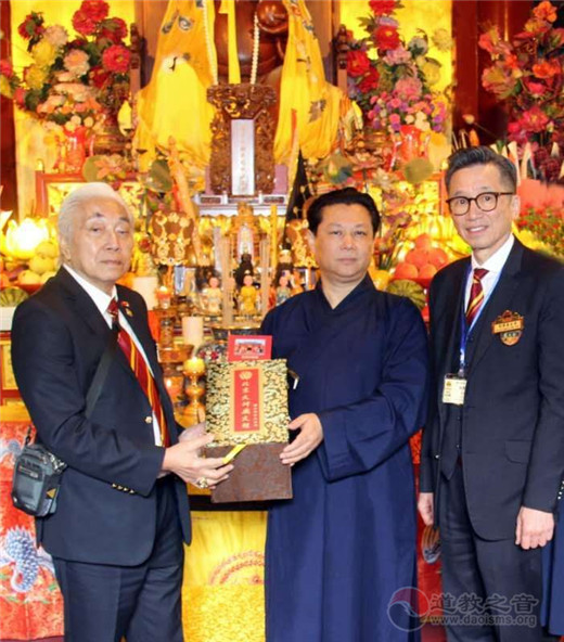 香港黄大仙祠参访团参访朝圣北京火神庙