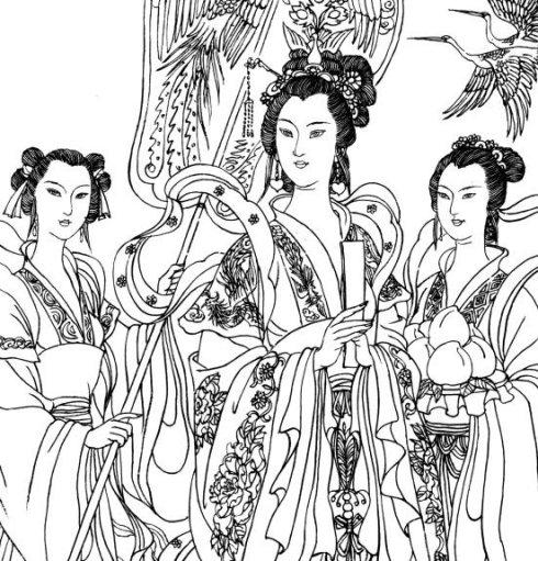 玄女、素女、玉女和采女,房中女神知多少?(一)