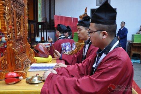 上海城隍庙举行己亥年文昌祈愿法会