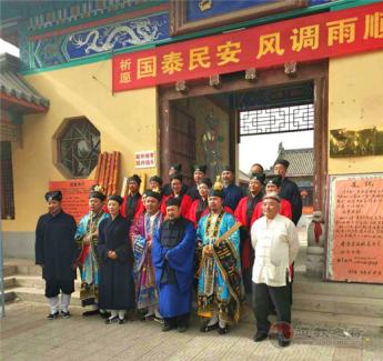 保定一畝泉龍母宮舉辦2019年傳統廟會