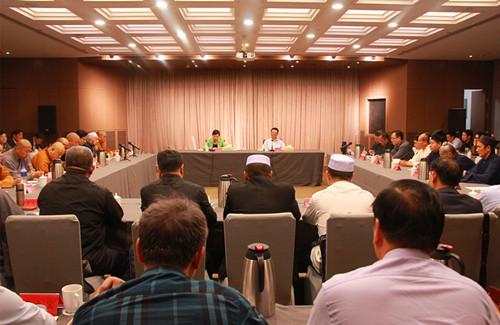 河南省全省性宗教團體負責人學習貫徹汪洋同志來豫調研講話精神座談會在鄭州召開