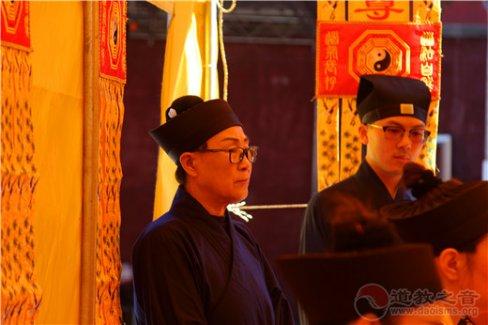 北京市平谷区兴隆观祈福迎祥法会举行破戊、文昌朝科等科仪