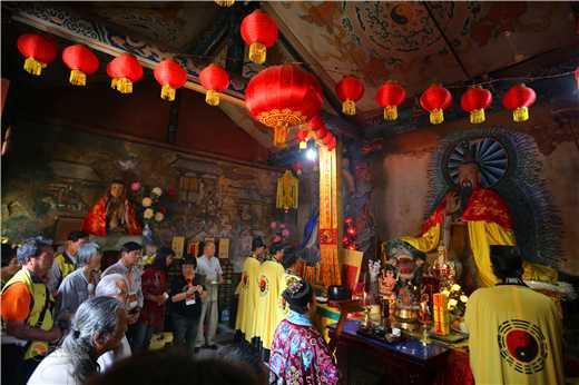 台湾道教文化交流访问团参访西安青华宫