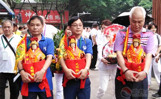 台湾中华灵乩协会交流团到漳州进香交流