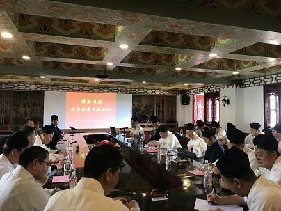 上海浦东新区道教协会举办讲经讲道培训班