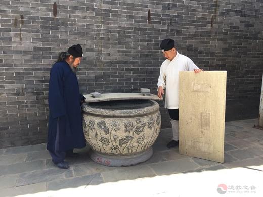 """太原市道协深入各宫观进行""""四进""""落实情况调研"""