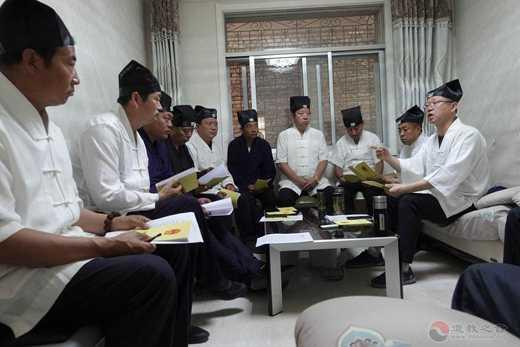 陕西榆阳道协召开会长办公会再部署道观规范化管理