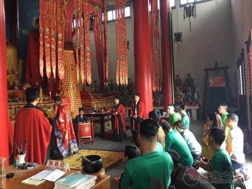 马来西亚沙巴州茅山道教会一行参访镇江、南京道教宫观