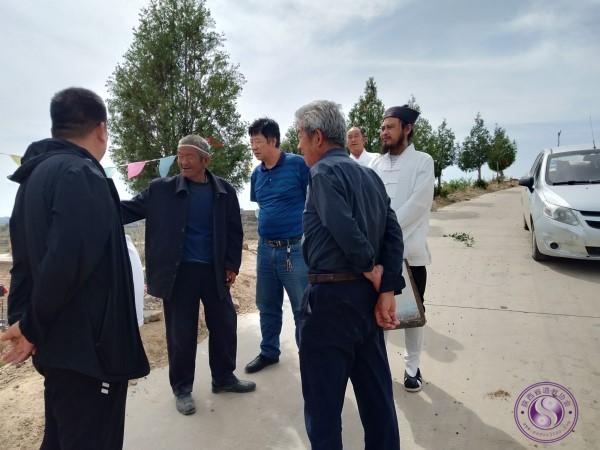 榆林子洲县宗教局局长封永红走访子洲道协