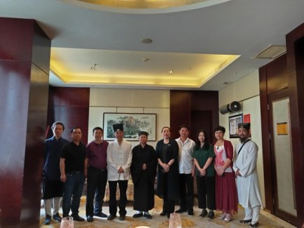 湖南省道协会长黄至安方丈率队赴娄底调研