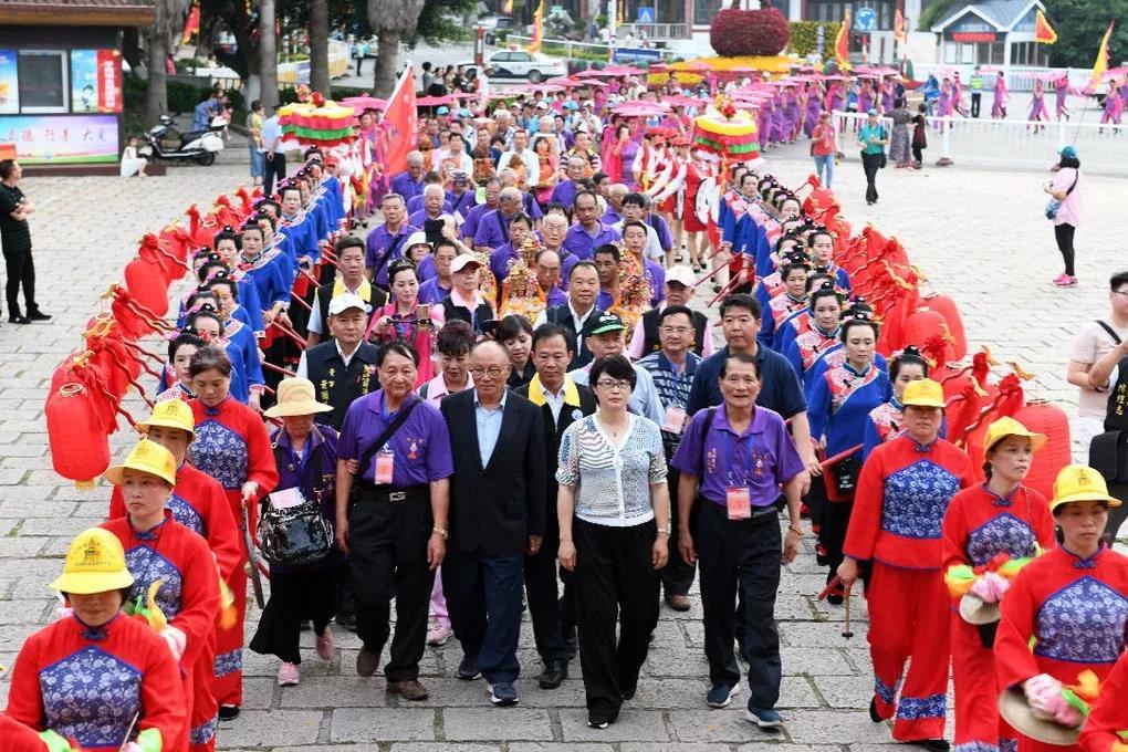 台湾信众赴莆田纪念台湾渔船直航湄洲朝拜妈祖30周年