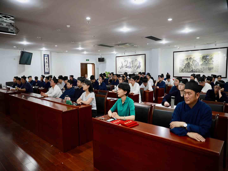 中国道教学院首届读书月活动——传统文化知识竞赛举办