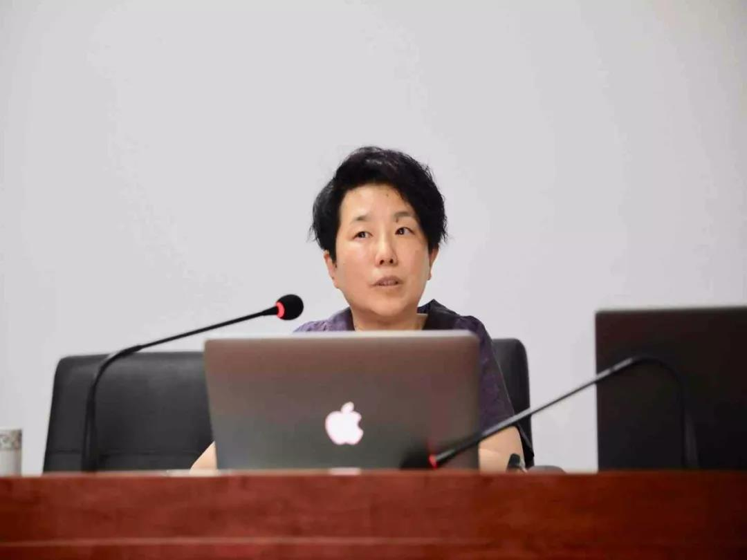 中央美术学院李辰教授在中国道教学院举办壁画艺术公益讲座