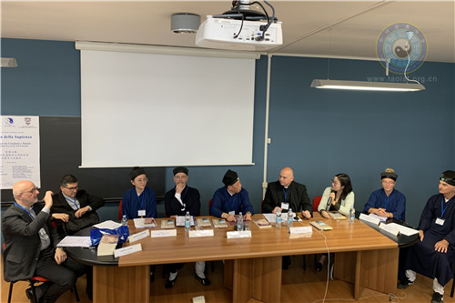 中國道教協會組團赴意大利參加意大利道教協會成立25周年慶典活動