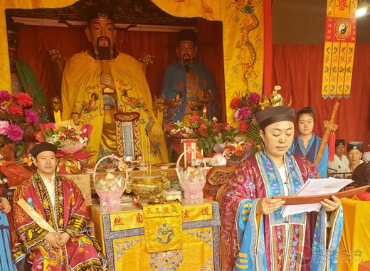淄博市道教协会经乐团赴涞水城隍庙参加城隍祝寿拜祭活动