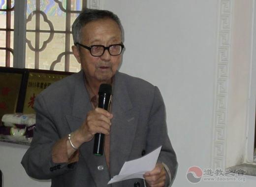 陕西榆林关公文化研究会召开古文化景点保护座谈会