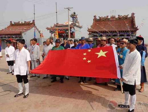 陕西榆阳金克山道观庙会见证蒙汉团结