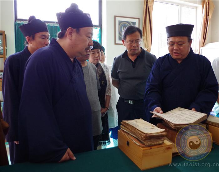 吉林省宗教事务局领导调研太原市道教协会