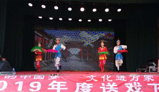 山西省阳高县玄妙观举行十四周年庆典暨庙会活动