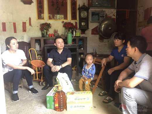 广西道教协会副会长陈应伟到平南县调研道教文化