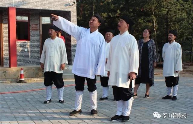 山东省道协会长张诚达道长赴胶东半岛调研道教工作