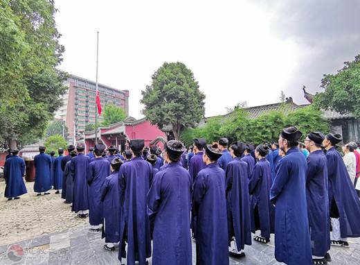 武汉道教界庆祝建国70周年系列活动 在武汉长春观启动