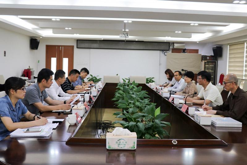 上海市民宗局局長調研寶山區大場鎮宗教工作
