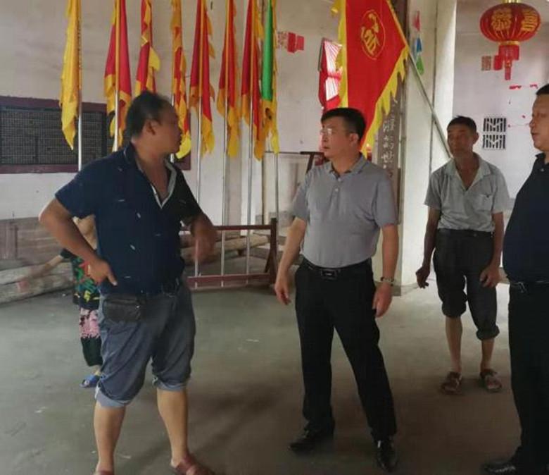江西省民宗局宗教一处党支部调研民间信仰工作