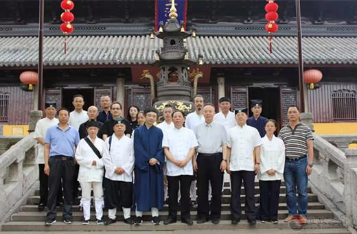 重庆市道教协会参访团一行参访苏州道教