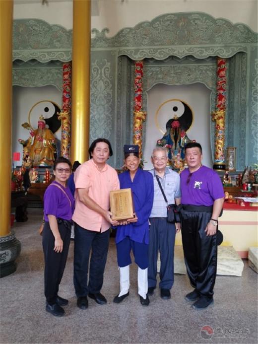 香港国际道教文化协会参访台湾宫观