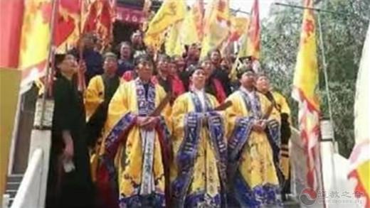 雄安新区安新县道协举办庆祝建国70周年祈福迎祥法会