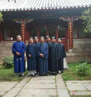 茅仙洞道协参访团一行到山东崂山太清宫、淄博九圣阁等地访问朝圣