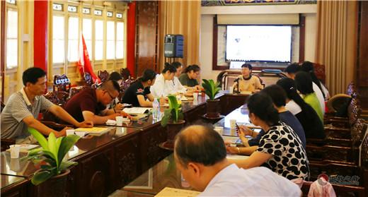 陕西西安八仙宫举行第五期传统文化讲座