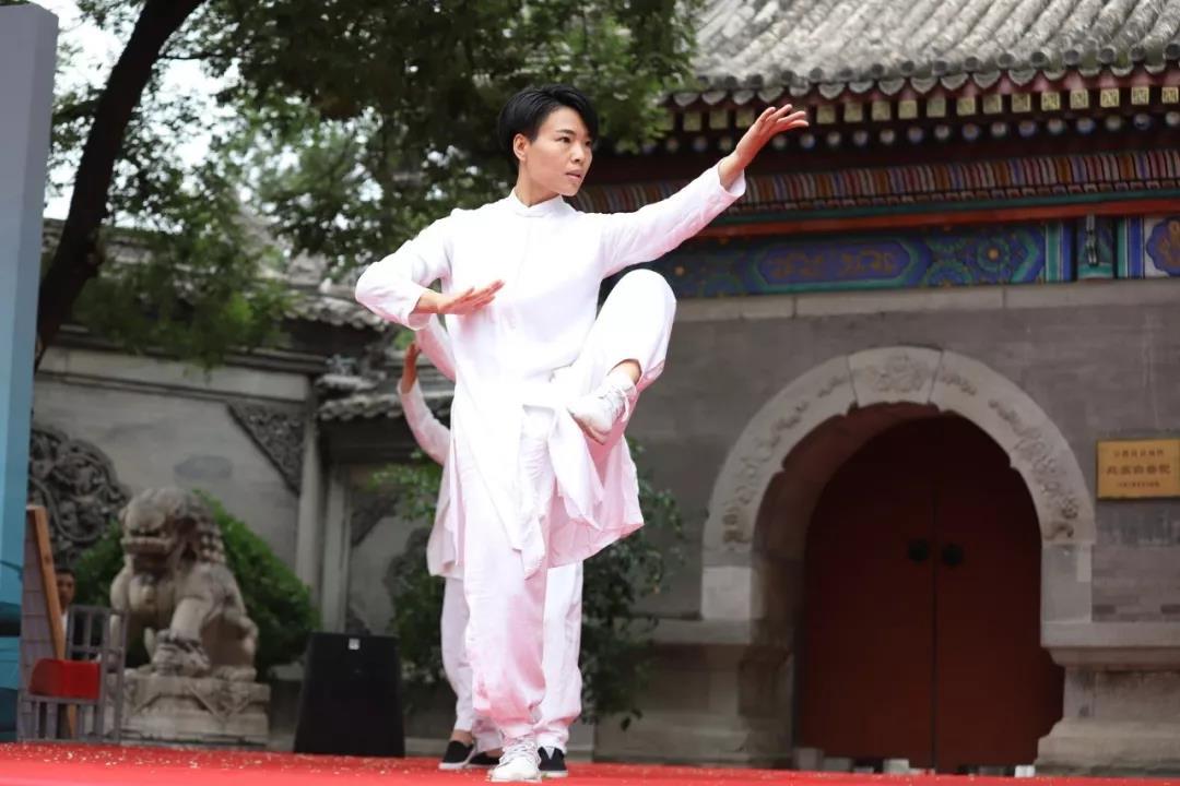 京臺太極文化交流展演活動在北京白云觀圓滿舉辦