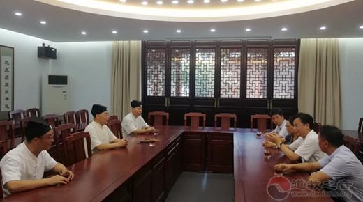 苏州市委常委、统战部部长检查玄妙观安全工作