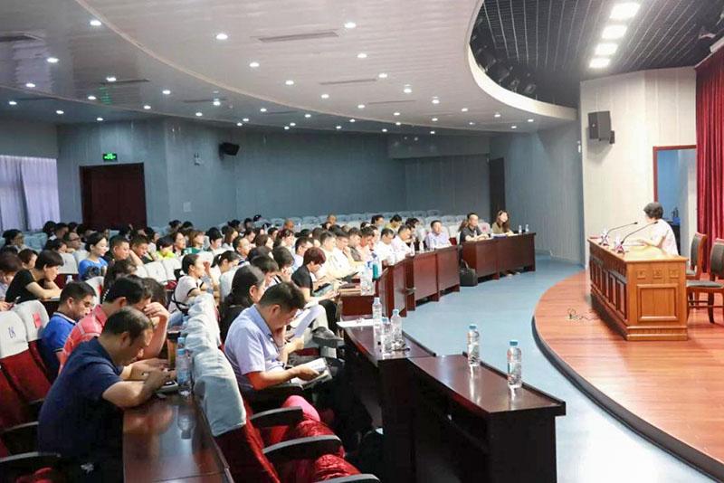 上海市民宗局局長為寶山區宗教工作專題學習會作輔導報告