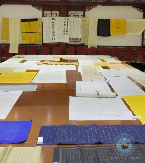 中国道协第十一届玄门讲经抄经作品评审会在京举行