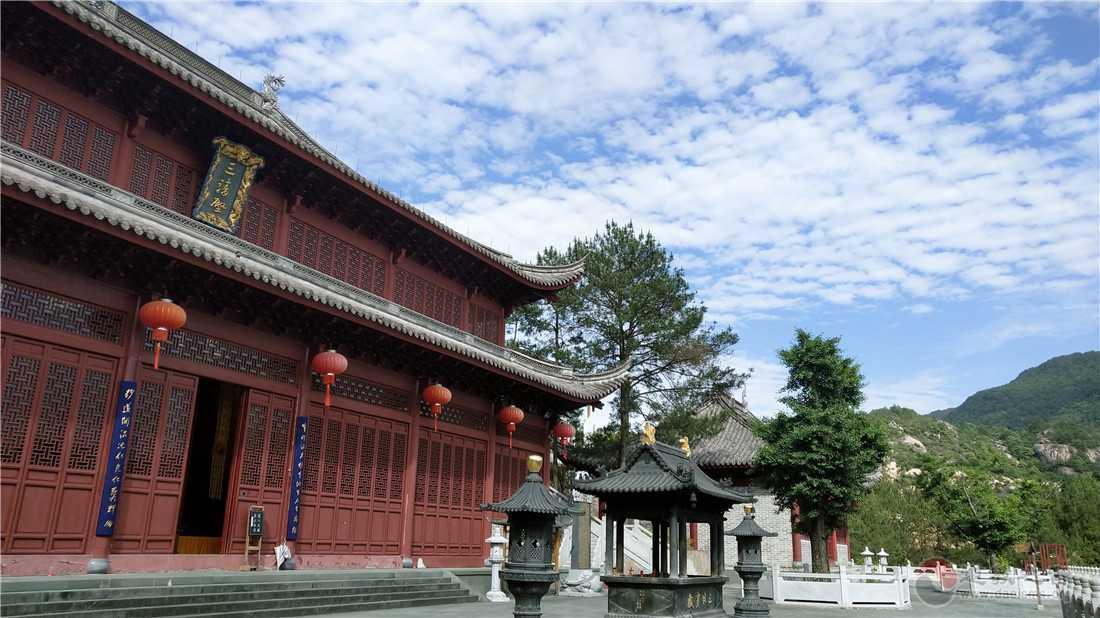 浙江台州桐柏宫