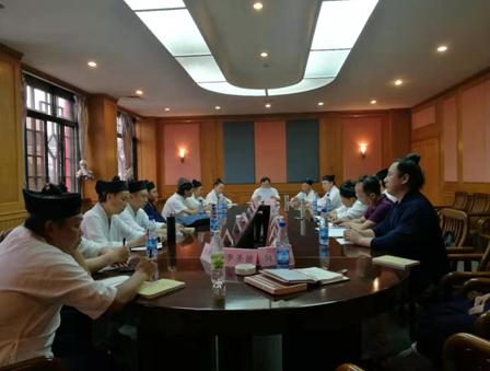湖北省道教协会召开加强道风建设座谈会