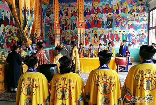 保定市唐县道教协会举办庆祝建国70周年祈福法会