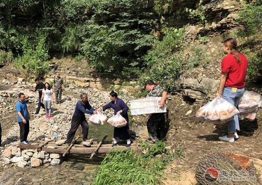 青州市道教协会赴受灾乡镇看望慰问受灾群众