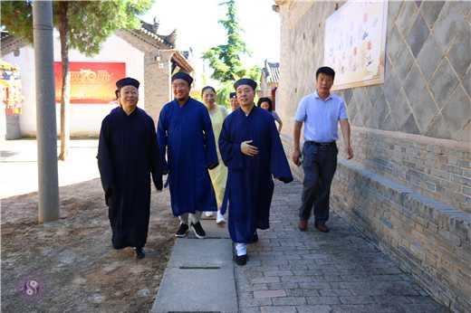 陕西省道协整改调研组赴咸阳进行专题调研
